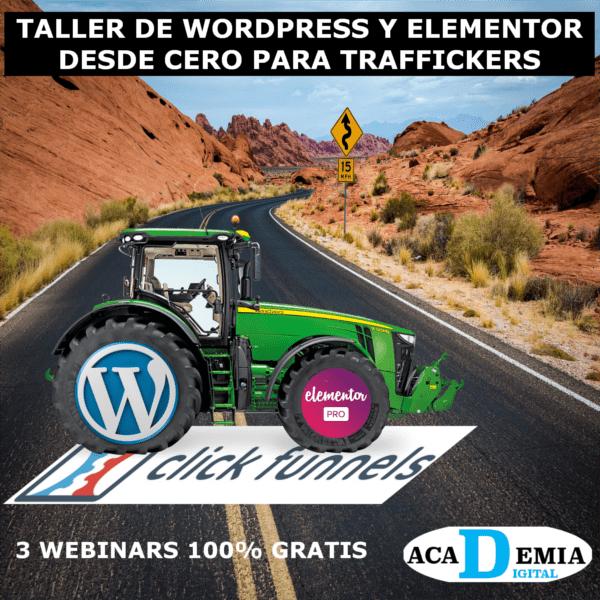 Taller de WordPress y Elementor Pro