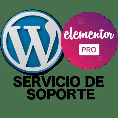 Soporte WordPress y Elementor Pro